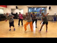 ▶ Zumba With Erika: Candy Man by Christina Aguilera - I thought this was fun! The lyrics aren't really appropriate for my church groups, but I'll be adding this to my at home playlist :)
