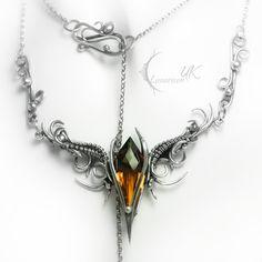 EZTERNIS - silver , ametrine by LUNARIEEN.deviantart.com on @deviantART