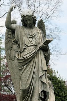 Cave Hill Cemetery. Louisville, KY..has some beautiful places and memorials....and history