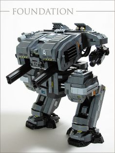 FOUNDATION Class Heavy Assault Mech | Flickr - Photo Sharing!
