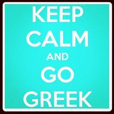 Go Greek!