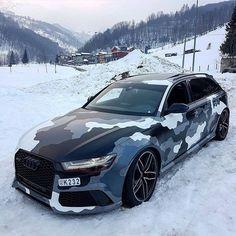 Audi Artic Camo - Cars and motor Audi Rs6, Allroad Audi, Porsche, Lamborghini, Ferrari, Audi Quattro, Supercars, Audi Wagon, Luxury Sports Cars