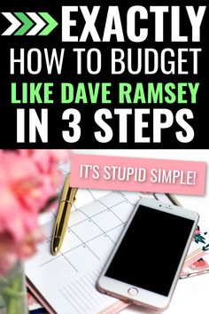 Dave Ramsey Budget App, Dave Ramsey Plan, Budget Spreadsheet, Budget Planner, Monthly Budget, Making A Budget, Create A Budget, Budgeting Finances, Budgeting Tips