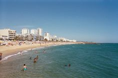 The water was a bit chilly, but otherwise the beaches were wonderful! The Places Youll Go, Places Ive Been, Places To Visit, Portugal, Algarve, San Francisco Skyline, Places To Travel, Beaches, Countries