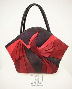 "Bag ""Bird of paradise"" by Diana Ulanova. Collection ""Naturelle"". Price 395…"