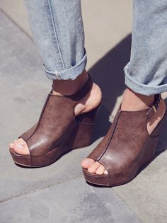 Melrose Wedge at Free People Clothing Boutique