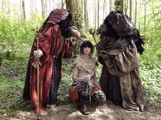 "We had an awesome time being Skeksis & Gelfling from the movie ""The Dark Crystal""(1982) at Elfia. Very proud of my (Skek)sister Moniek de Koning who created all the costumes. More fantastic creations follow: https://www.facebook.com/CosplayTwings and/or:  https://www.facebook.com/fairytailormoniekdekoning"