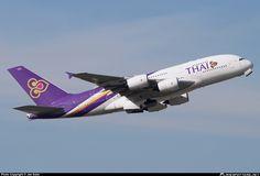 HS-TUA Thai Airways International Airbus A380-841