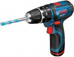 Bosch Professional Cordless Li-ion Brushed Combi drill 2 batteries GSB LI - B&Q for all your home and garden supplies and advice on all the latest DIY trends Cordless Impact Drill, Cordless Power Tools, Bosch Tools, Bosch Professional, Decoration Originale, Power Hand Tools, Tools Hardware, Hammer Drill, Work Tools