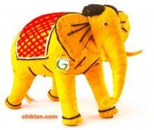 Chiklan:Eco Friendly Coir toy (Elephant shape). Shop at www..chiklan.com