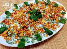 Yoğurtlu Mercimekli Semizotu Salatası - Leziz Yemeklerim