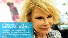 Joan Rivers dies aged 81 on 4th September, 2014