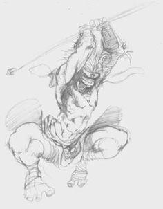 monkey king by on DeviantArt Monkey Art, Monkey King, Hanuman Photos, Lord Hanuman Wallpapers, King Tattoos, Journey To The West, Manga Drawing, Drawing Tips, King Art