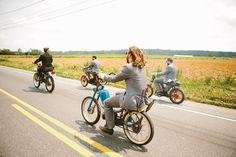 my moped wedding