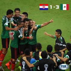 2014 World Cup: Group A - Mexico advance to Round of 16!