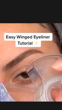 Edgy Makeup, Makeup Eye Looks, Eye Makeup Steps, Eyeliner Looks, Eye Makeup Art, Eyebrow Makeup, Skin Makeup, Eyeshadow Makeup, Makeup Hacks
