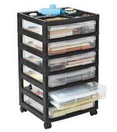 Iris Scrapbooking Cart & Storage Drawers & Carts at Joann.com $53.99