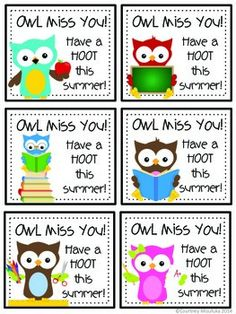 Included in this pack are 6 different sayings that you could use to attach to end of year gifts for your students. Some of the labels are grade level specific, and some have 2 different template options per saying to choose from. Have a Toadally Kool SummerFor this label, I have packaged Kool Aid, silly straws, and other little knick knacks I have on hand.