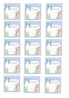Cantinho dos Rótulos: Arte Tags para lembrancinha de nascimento; meninos e meninas. Grátis!!! Baby Boy Shower, Little Boys, Paper Flowers, Mickey Mouse, Scrapbook, Prints, Kids, Lucca, Pegasus