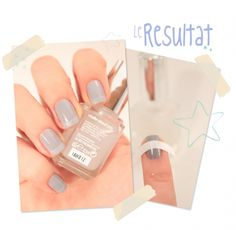 Matte French Manicure in minutes, using Essie's Matte About You finish.