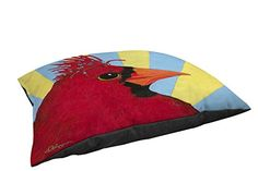 Thumbprintz Fleece Top Toy or Small Breed Pet Bed You Silly Bird Mo Multi Colored >>> You can get additional details at the image link.
