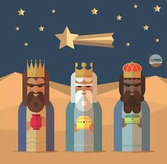12 Days After Christmas, Wise Men Gifts, We Three Kings, Star Of Bethlehem, Three Wise Men, Christmas Drawing, Epiphany, Holiday Festival, Diy Christmas Gifts