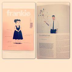 interview in Frankie Magazine