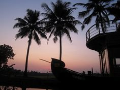 Sunset on the Kerala backwaters...pure bliss.