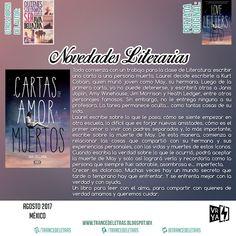 Cartas De Amor A Los Muertos de Ava Dellaira (Edición deLujo, Pasta Dura)