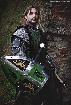 Modern take on armor - nice job.