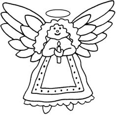 christmas angel black and white clipart clipart kid christmas clipart free clipart images - Black And White Christmas Clip Art