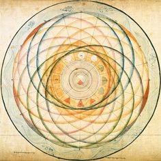 The Wheel of Time (Kālacakra) Tantra. Depictions of the Ground: Outer and Inner Kalacakra. The Twisted Ball of String System, A Map of Sambhala, Orbits Like Interlacing Feathers, The World System with. Tibetan Art, Tibetan Buddhism, Buddhist Art, Tibetan Mandala, Mandala Art, Ayurveda, Celtic, Celestial Sphere, Esoteric Art