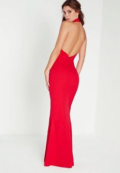 We know that there's nothing that screams glamour like a trusty maxi dress, and this beaut is perfect. The high neck and split are total red carpet sleek, so team with a classy clutch and a pair of dainty heels. Wham, glam, thank you ma'am!...