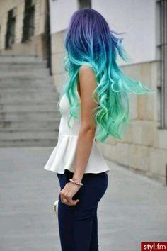 Mermaid hair. preeeeettttttyyyyyyy