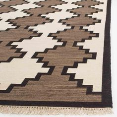RLR5852A Great Plains Rug From Ralph Lauren Collection The Traditional Nomadic Soumak Weave Creates A
