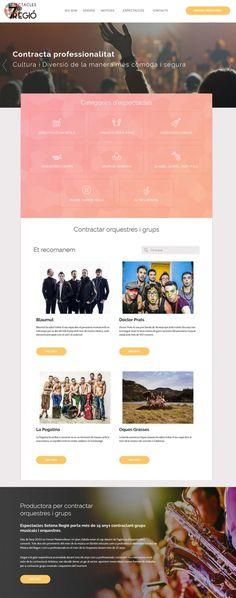 Diseño web y SEO para Espectacles Setena Regió