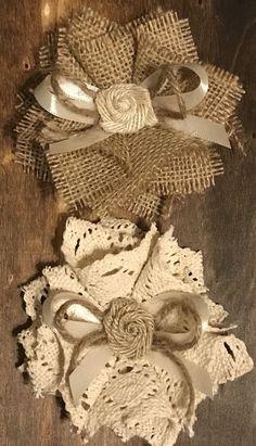 Burlap Flower Crochet Lace Rustic Barn Wedding Bridal Knife Baby Shower Cake DIY   eBay