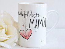 """Weltliebste MAMA"" - Tasse"