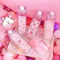 Kawaii Sweet Strawberry Bottle – KawaiiTherapy – Presents for girls Aesthetic Food, Pink Aesthetic, Cute Pink, Pretty In Pink, Kawaii Bedroom, Cute Water Bottles, Loli Kawaii, Kawaii Anime, Kawaii Accessories