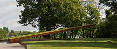 Bastionder in 's-Hertogenbosch, Ontworpen door Van Roosmalen Van Gessel Architecten. Landschapsarchitect Martien van Osch.