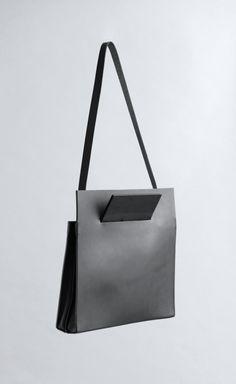 Chiyome   Pierced Shoulder Bag   Spring 2015