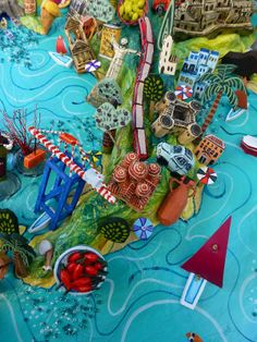 Venice Italy map detail by Sara Drake Italy Map Pinterest