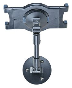 iPad Tablet Wall Mount with Swivel Design, Tilting and Rotating - Black
