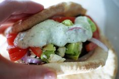 Lamb Gyros with BEST Tzatziki Sauce!! I LOVE this recipe!