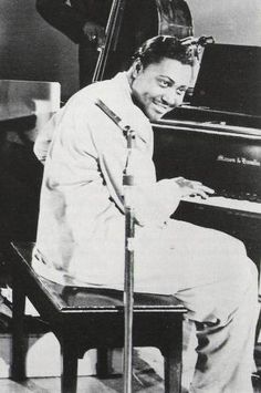 """Amos Milburn (April 1, 1927 – January 3, 1980) was a rhythm and blues singer and pianist, popular during the 1940s and 1950s. He was born and died in Houston, Texas.  One commentator noted, """"Milburn excelled at good-natured, upbeat romps about booze and partying, imbued with a vibrant sense of humour and double entendre, as well as vivid, down-home imagery in his lyrics."""""""
