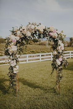 Romantic Handmade Vineyard Wedding | Santa Barbara, CA