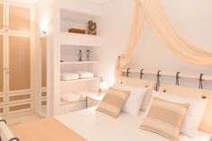 Bedroom Villa in Stelida area in Naxos! Proud member of Naxos Premium Light Colors, Montana, Swimming Pools, Villa, Luxury, Bedroom, Cob, House, Furniture
