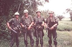 April 22 - May 11, 1967     The 1st and 25th Infantry Divisions initiates Operation MANHATTAN in the Long Nguyen Secret Zone, kiling 123 VC and capturing a large assortment of enemy weapons, equipment, food and supplies.         (Grunts of 2/14 during MANHATTAN