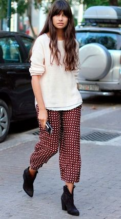 How To Wear Printed Pants: 40 Pictures of Perfection