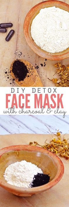 This detox face mask feels so good on my skin! It's only 3 ingredients, using both charcoal AND clay, and it leaves my face feeling so soft, smooth and naturally refreshed without having to use any harsh chemicals! It's now a must-have in my natural skin care routine. :: DontWastetheCrumbs.com